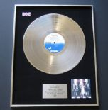 BLONDIE - Parallel Lines PLATINUM LP PRESENTATION Disc